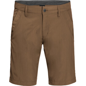 Jack Wolfskin Desert Valley Shorts Men bark brown